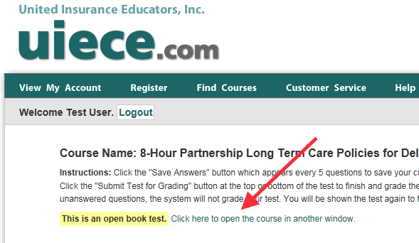 How To Open Your Course